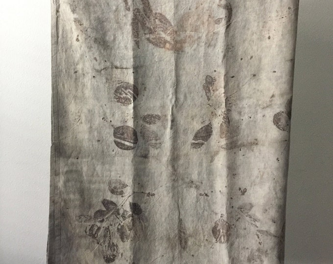 Botanical Print 100% Linen Tablecloth