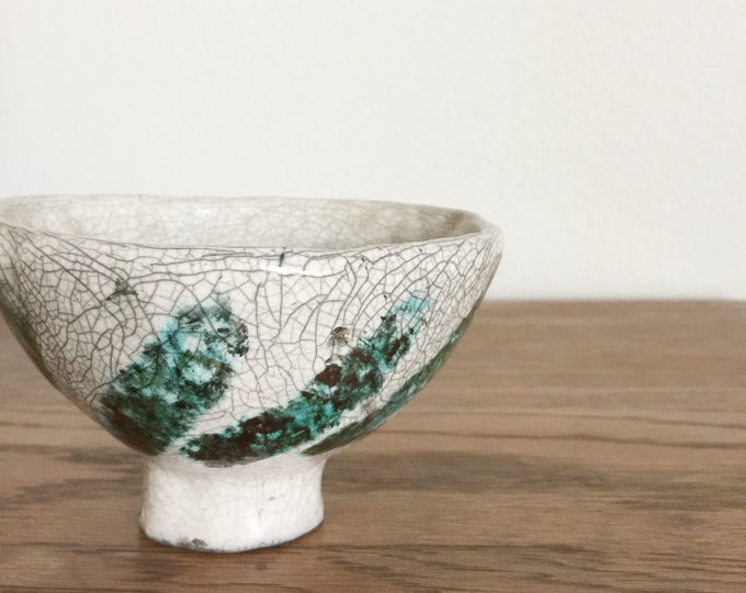Handmade Small Raku Ceramic Vase