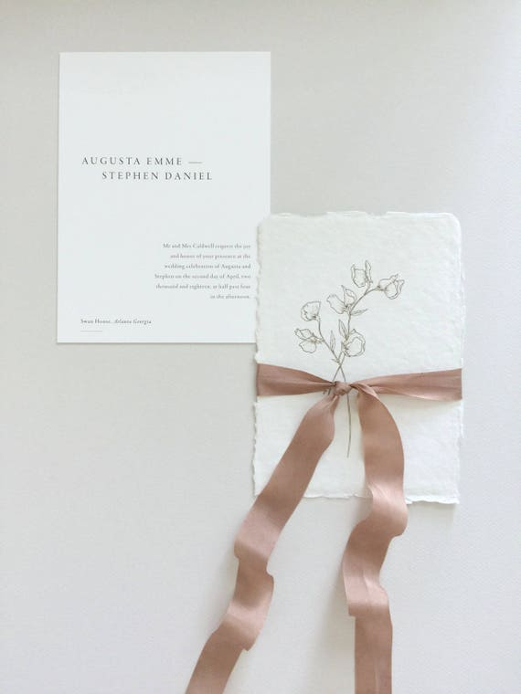ROSE TAUPE Plant Dyed Silk Ribbon