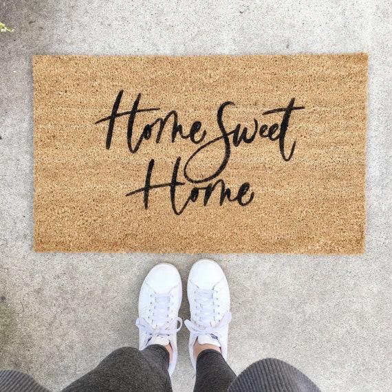 Farmhouse Doormat Housewarming Gift Personalized Doormat Wedding Gift Closing Gift Hope You Like Star Wars Welcome Mat