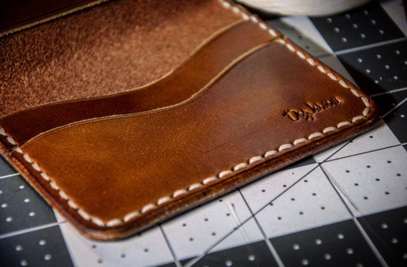 THE CHIEF   Leather Challenge Coin Wallet