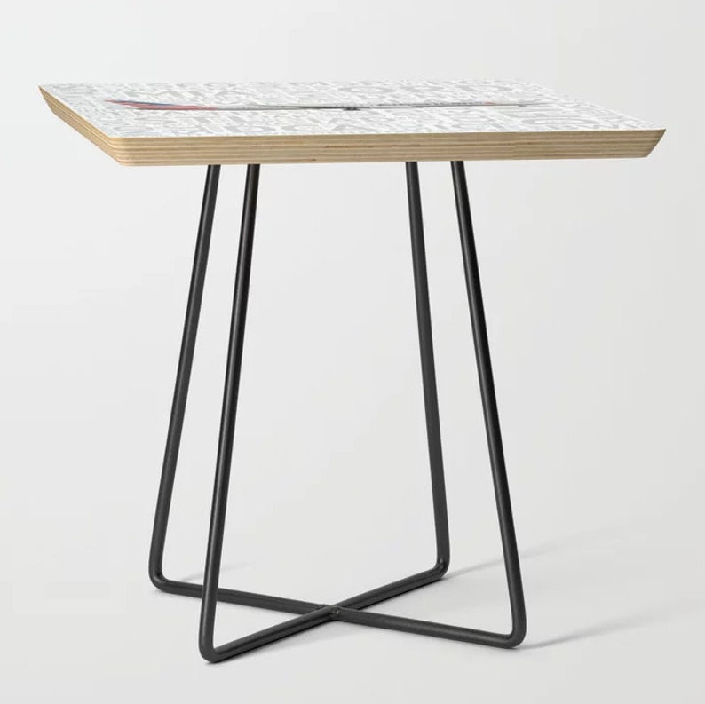 Accent Table American Airlines 737 with Airport Codes
