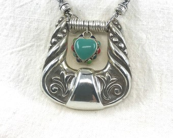 Vintage Necklace, Vintage Jewelry, Re-Purposed Jewelry, Nocona Jewelry