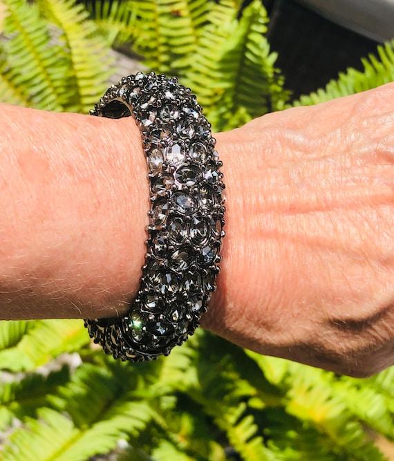 Kenneth J. Lane KJL Blingy Bangle Bracelet ~ Signe