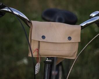Genuine Leather Bike Bag