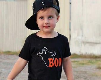 Boys Halloween Shirt, Boo Shirt, Halloween Shirt, Ghost Shirt, Baby Boy, Toddler Boy, Cute Halloween Tee, Fun Halloween Shirt, Halloween