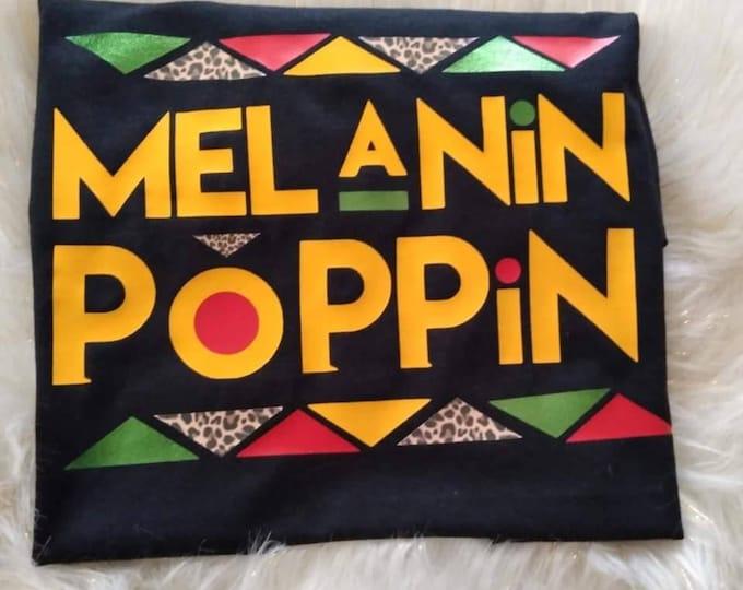 Melanin Poppin shirts for Youth