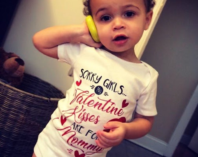 Valentines Day Jumper for toddlers- Graphic Tee