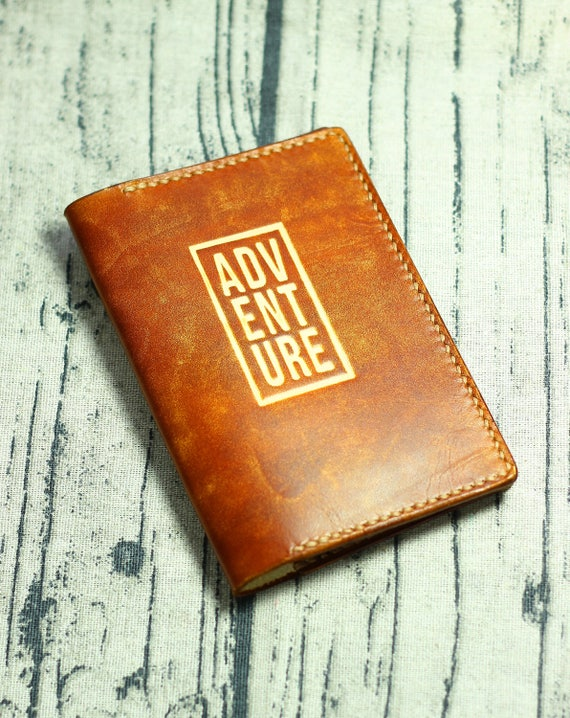 adventure passport cover leather passport wallet passport etsy