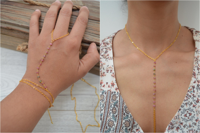 Slave Boho hand jewelry exclusive photo