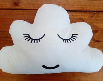Cloud Cushion - can be personalised.