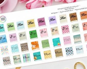 Plan Planner Stickers, For Erin Condren, Happy Planner, Tns, organiser, journal, Filofax, TN and more!  Planners Planning Time Plan With Me