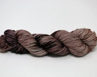 Hand Dyed Yarn - Superwash - Sock Yarn - Soft Sock Base - 80/20 Merino/Soft Nylon - 'Otter'