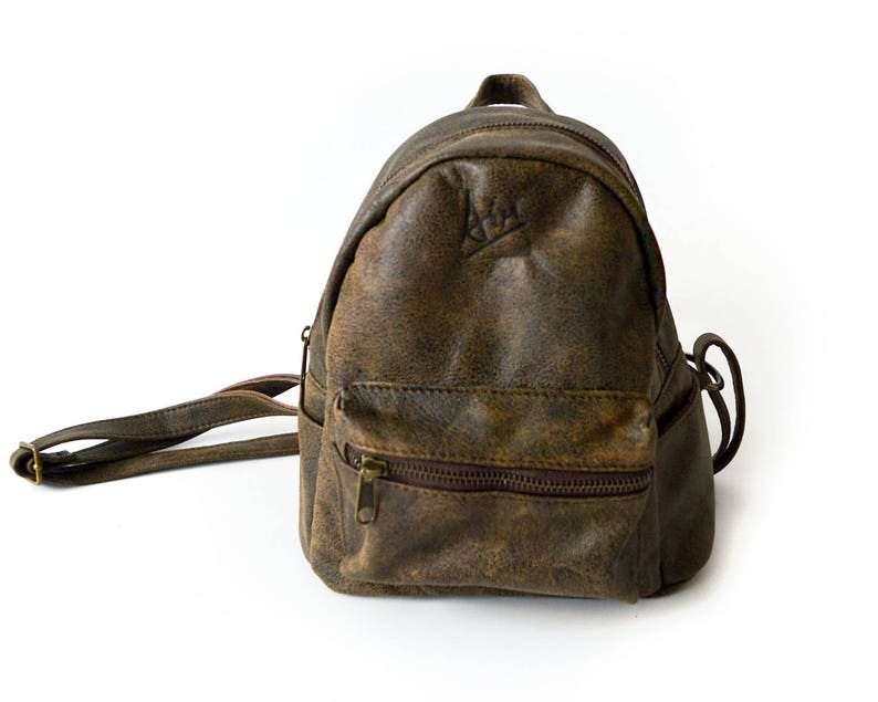 211a3cae26 Mini leather backpack Small backpack for her Coffee brown leather bag  backpacks backpack purse women small brown backpack Best selling items