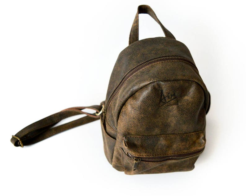 7b260780f541 Mini leather backpack Small backpack for her Coffee brown leather bag  backpacks backpack purse women small brown backpack Best selling items