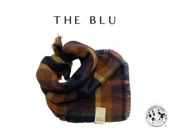 The Blu : Ruff Flannel Bandana