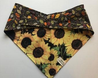 Sunflowers & Leaves