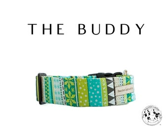 The Buddy : Winter Holiday Dog Collar