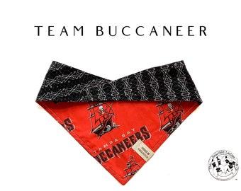 Tampa Bay Buccaneers : Reversible Dog Bandana