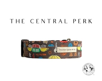 The Central Perk : Friends Dog Collar