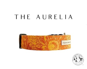 The Aurelia : Sunflower Dog Collar