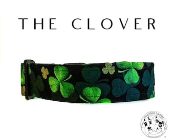 The Clover : Shamrock Saint Patrick's Day Dog Collar