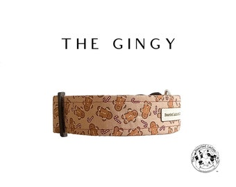 The Gingy : Gingerbread Dog Collar