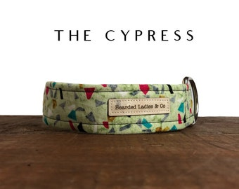 The Cypress : Abstract Shapes Dog Collar