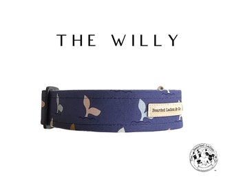 The Willy : Whale Tails Dog Collar