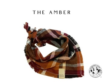 The Amber : Ruff Flannel Bandana