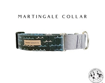Martingale Dog Collar : Summer Print Dog Collar
