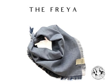 The Freya : Ruff Cotton Bandana