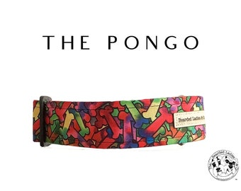The Pongo : Multicolor Bones Dog Collar
