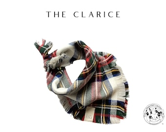 The Clarice : Ruff Flannel Bandana