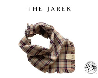 The Jarek : Ruff Cotton Bandana