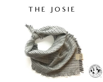 The Josie : Ruff Cotton Bandana
