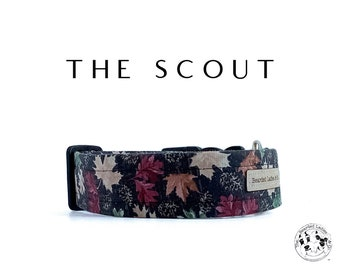 The Scout : Camoflage Leaves Dog Collar