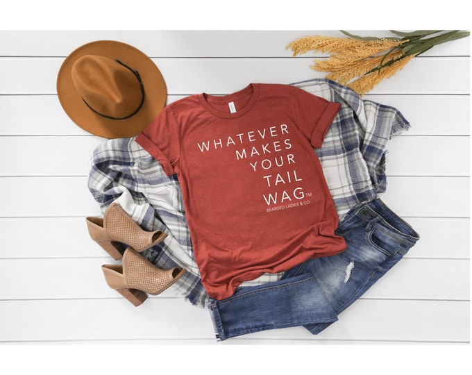Featured listing image: Whatever Makes Your Tag Wag Tee