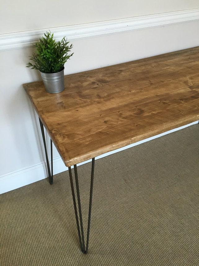 Rustikale Holz-Schreibtisch 150cm breit hergestellt aus | Etsy
