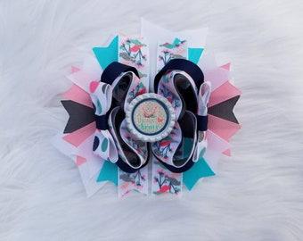 Baby & Toddler Clothing Brave Blue Bow Baby Headband