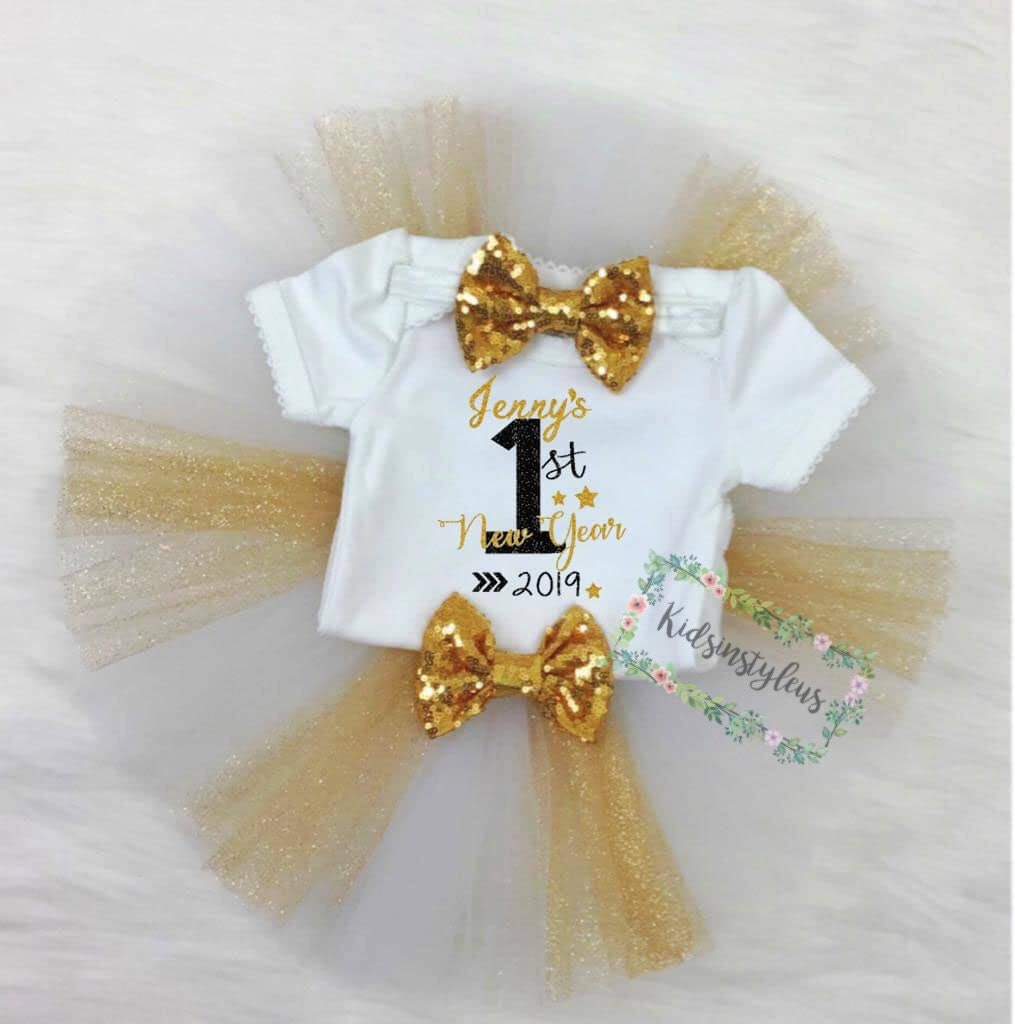 93d3826d2251 My first New Year First New Years Bodysuit 2019 New Year | Etsy
