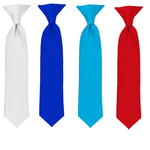c363c2f64214 Ties Boys Ties Red Tie White Tie Royal Blue Tie Turquoise | Etsy