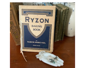 Vintage recipe book, Ryzon Baking Book, Baking Powder book. 1916 cookbook, vintage cooking, chef gift