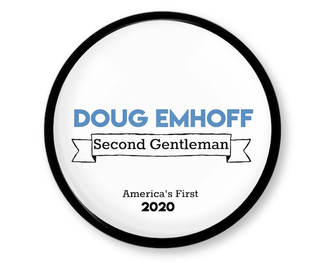 Doug Emhoff, America's First Second Gentleman, Kamala's husband, election 2020 memorabilia, vice president's husband,  white house family,