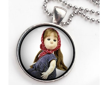 poor pitiful pearl keychain/ pendant combination. Free shipping in US.