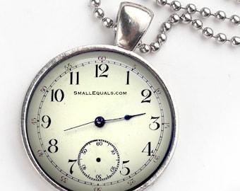 Pocket watch keychain pendant combination, Bag Charm, vintage watch, bag pendant.