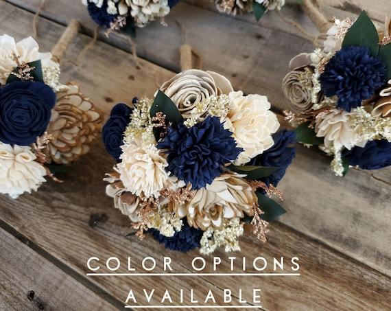 Rustic Glam Bridesmaid Bouquet