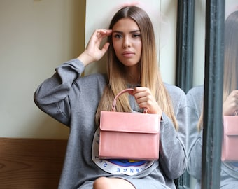 Create Your Own Bespoke Leather 'CARRIE' Handbag by Karan Rai London - Choose: The Leather, Linings & Fittings From A Range Of Colours