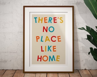 There's No Place Like Home Print / The Wizard of Oz Print