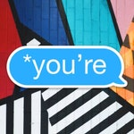 You're Sticker - Funny Grammar correction text message Sticker